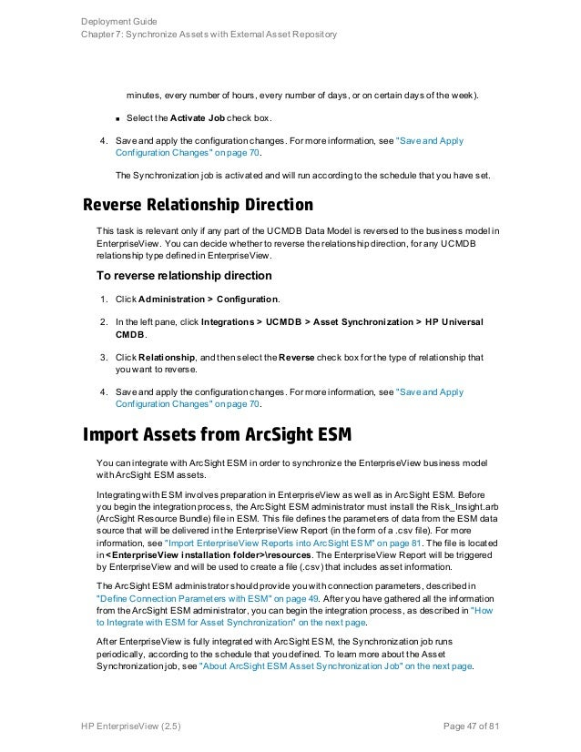 hp universal cmdb modeling guide