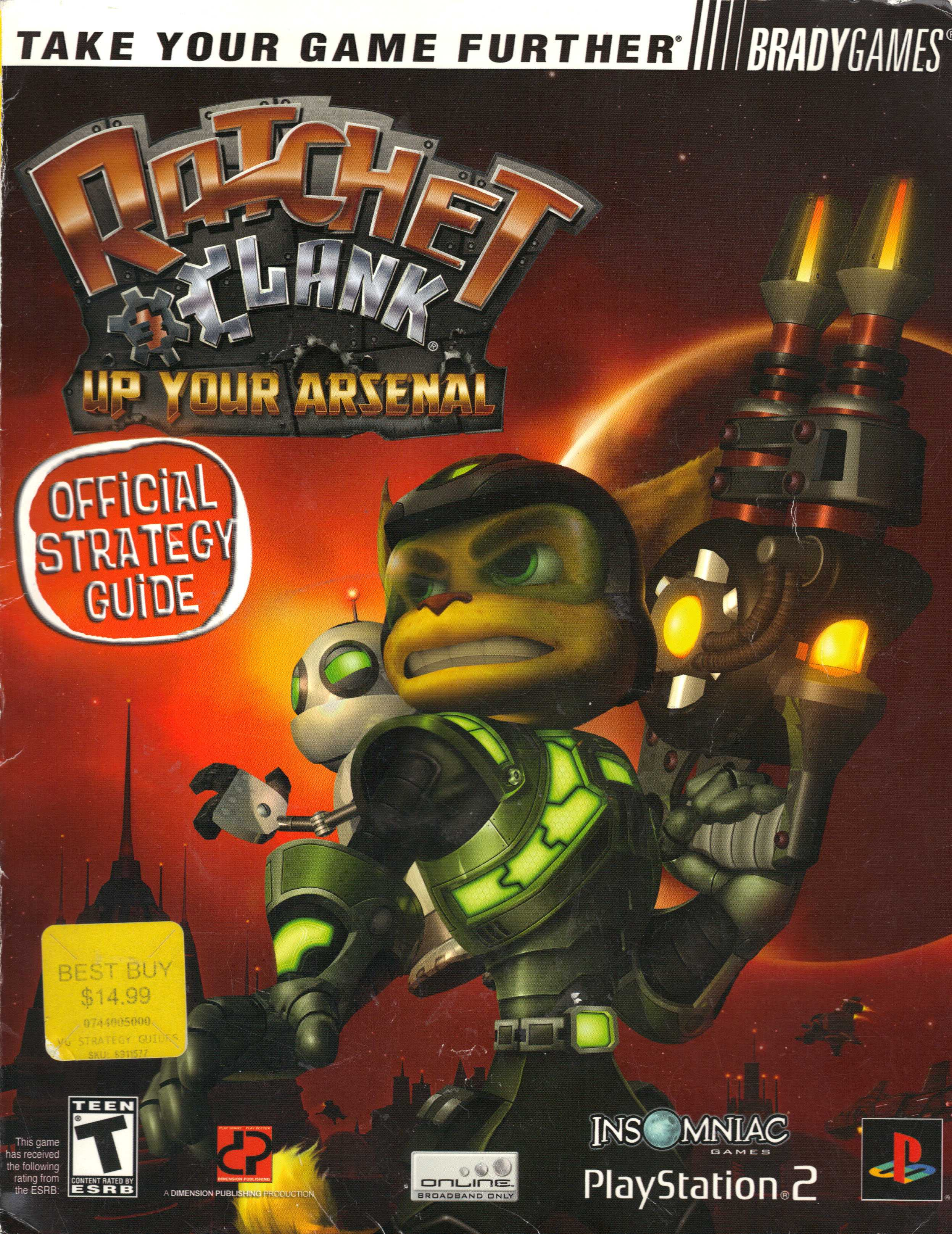ratchet and clank strategy guide pdf