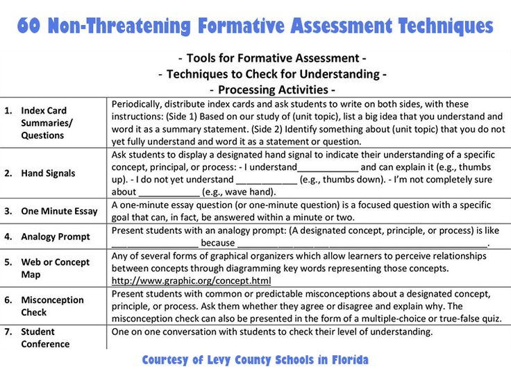 embedded formative assessment study guide