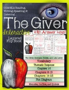the giver literature guide answer key