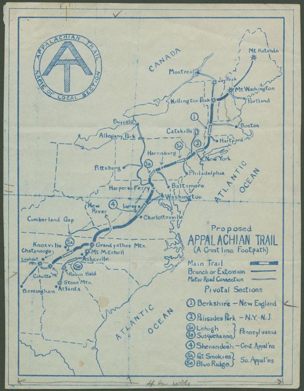 appalachian trail guide book 2017