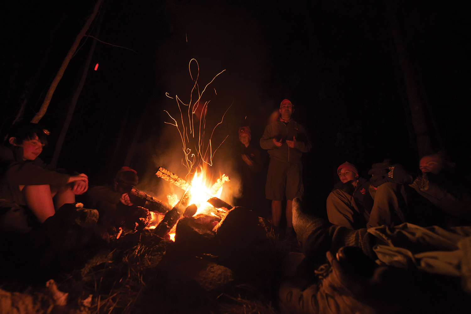 guide gear campfire cooking station
