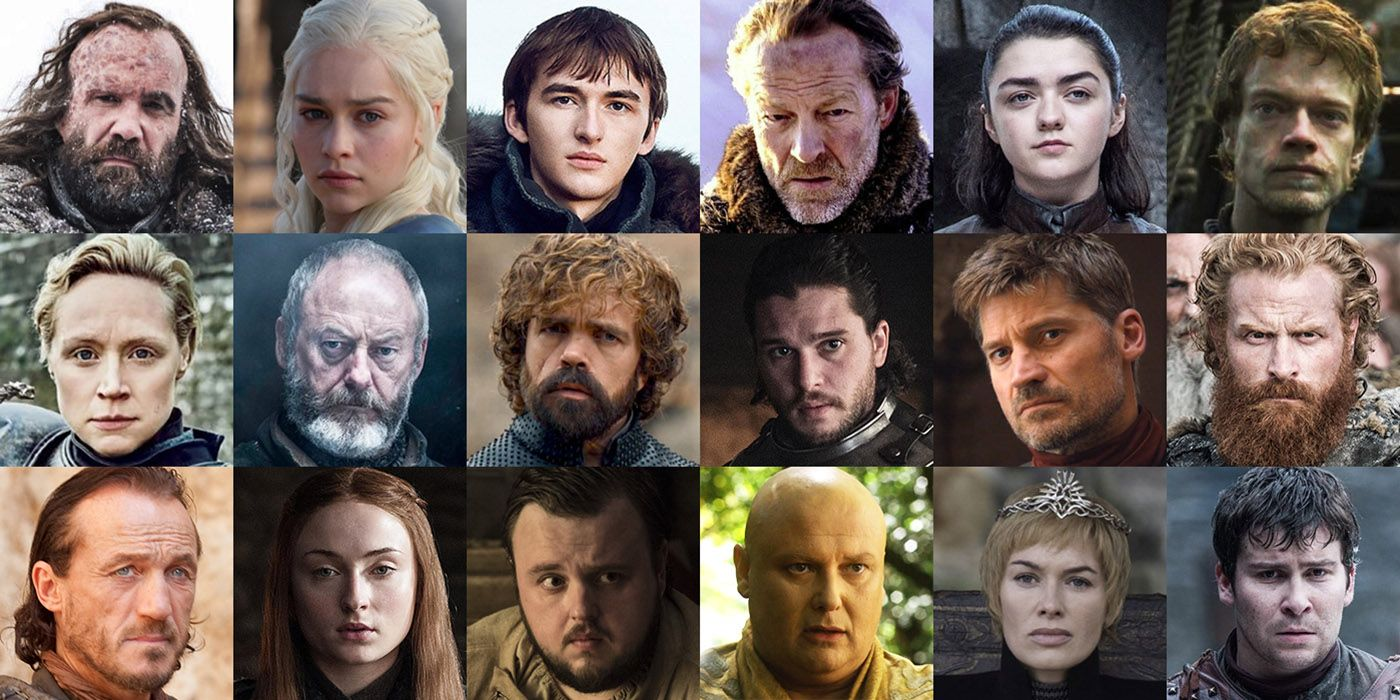 game of thrones season 1 character guide