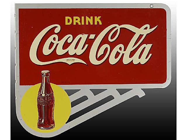 coca cola sign price guide