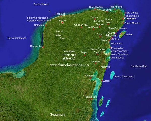 cancun cozumel & the yucatan travel guide