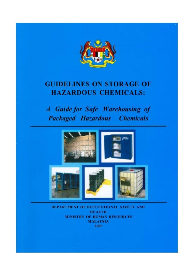 warehousing and storage a guide to health and safety