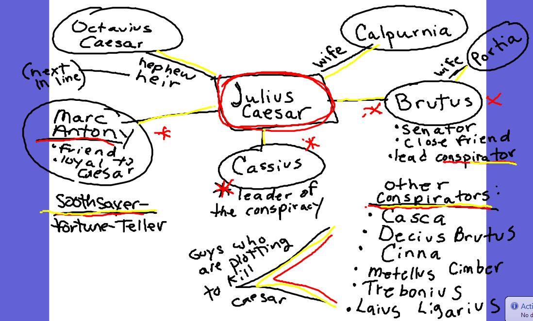 julius caesar act 3 scene 2 study guide answers