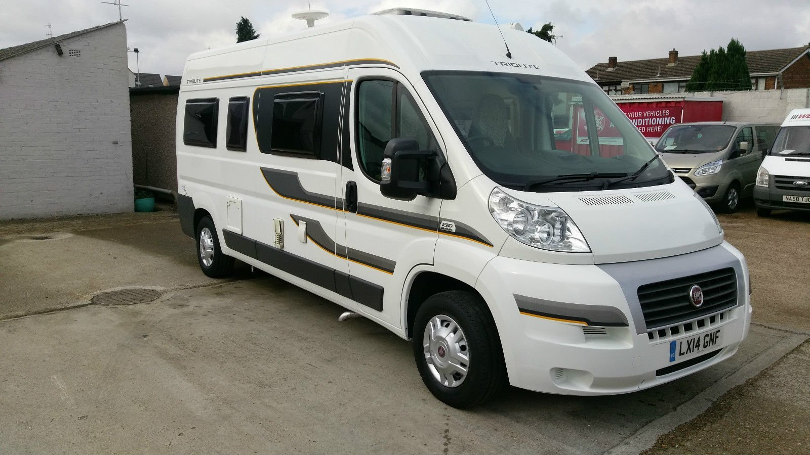 second hand motorhome price guide
