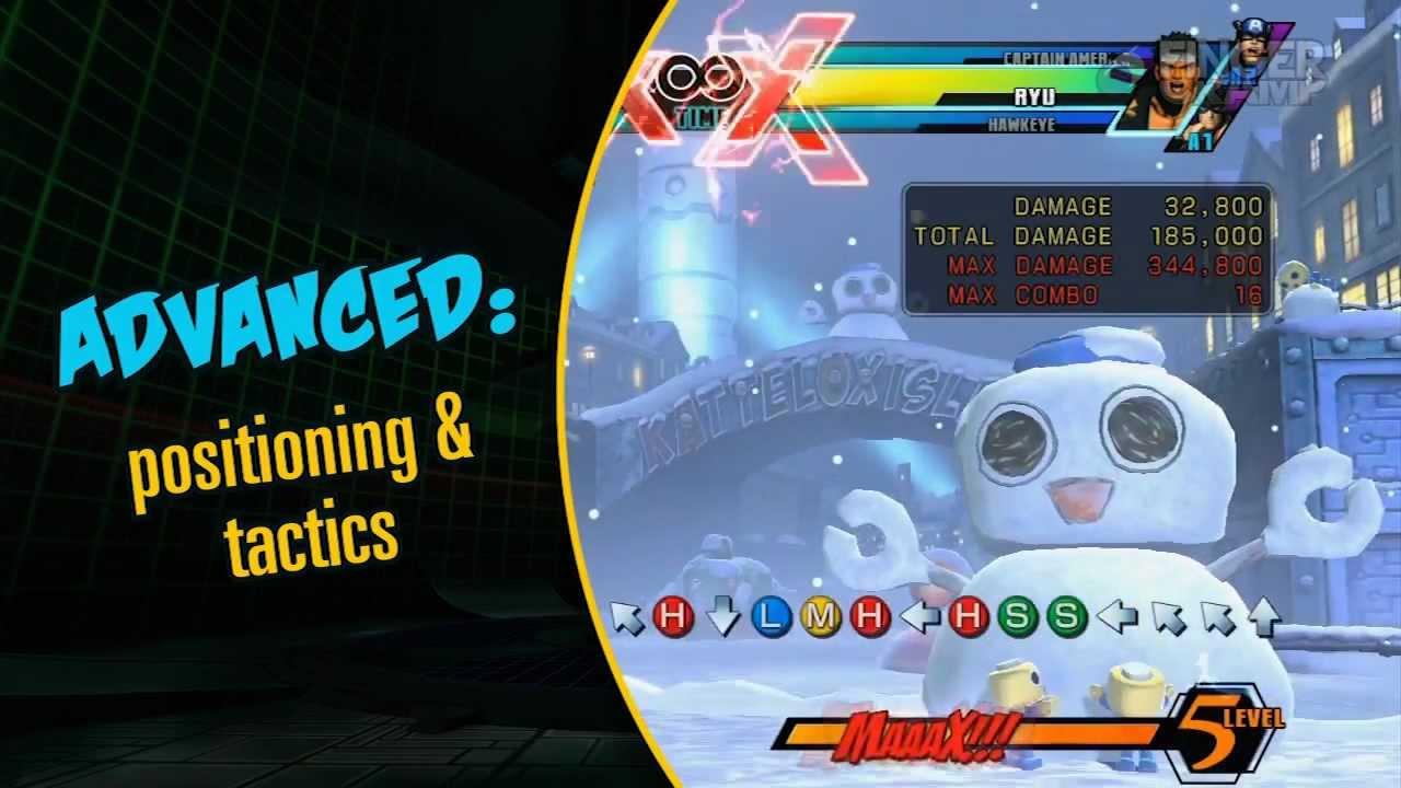 ultimate marvel vs capcom 3 guide