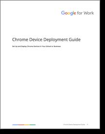 google chrome enterprise deployment guide