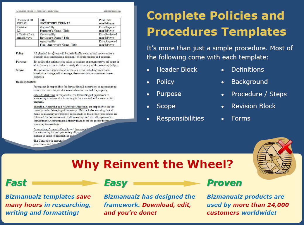 purchase policies and procedures guide