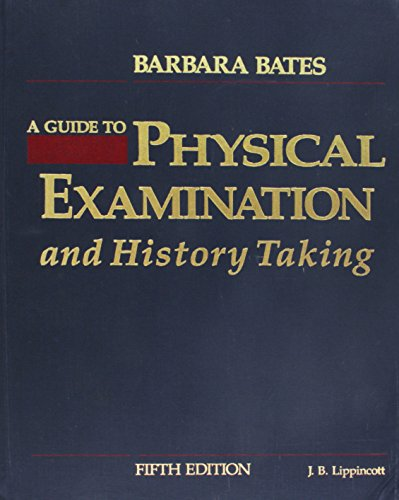 bates guide to physical examination latest edition