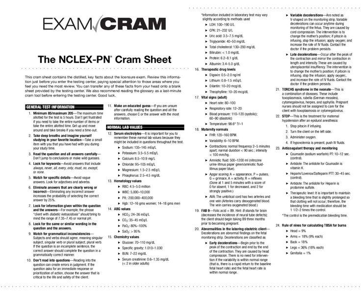 nclex rn study guide pdf