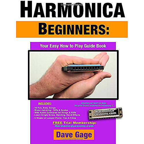 harmonica beginners your easy how to play guide book