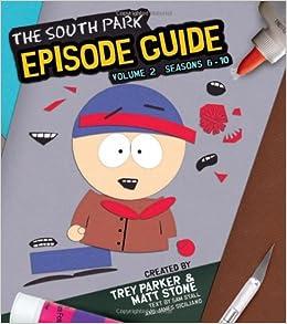 south park episode guide book