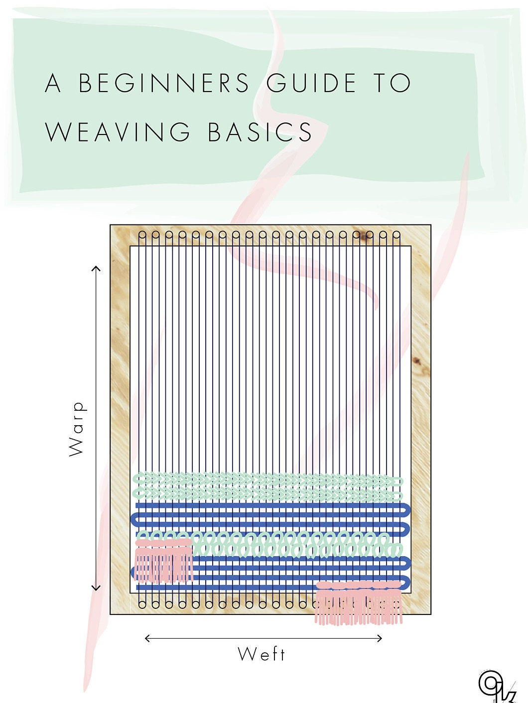 weaving for beginners an illustrated guide
