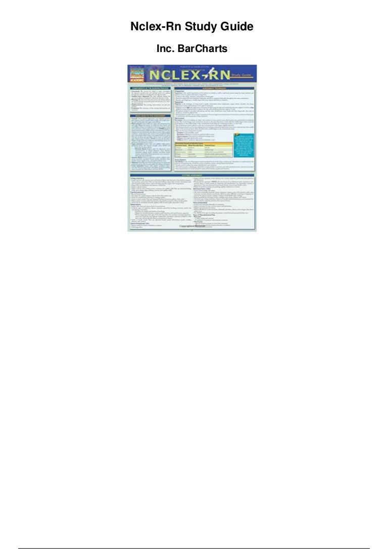 nclex rn study guide free