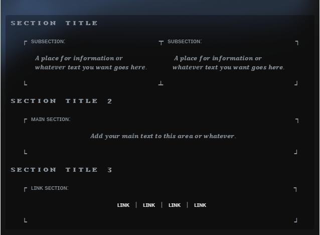 steam custom info box guide