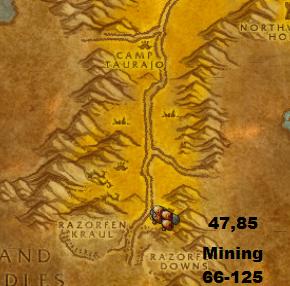 horde leveling guide 1 100