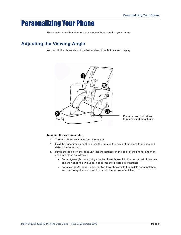 mitel 5330 ip phone administrator guide