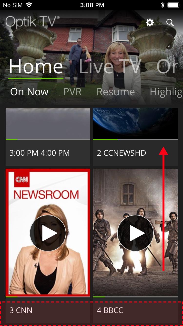 telus optik tv channel guide
