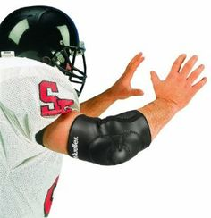 american football pads size guide