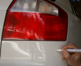 toyota touch up paint pen instruction guide