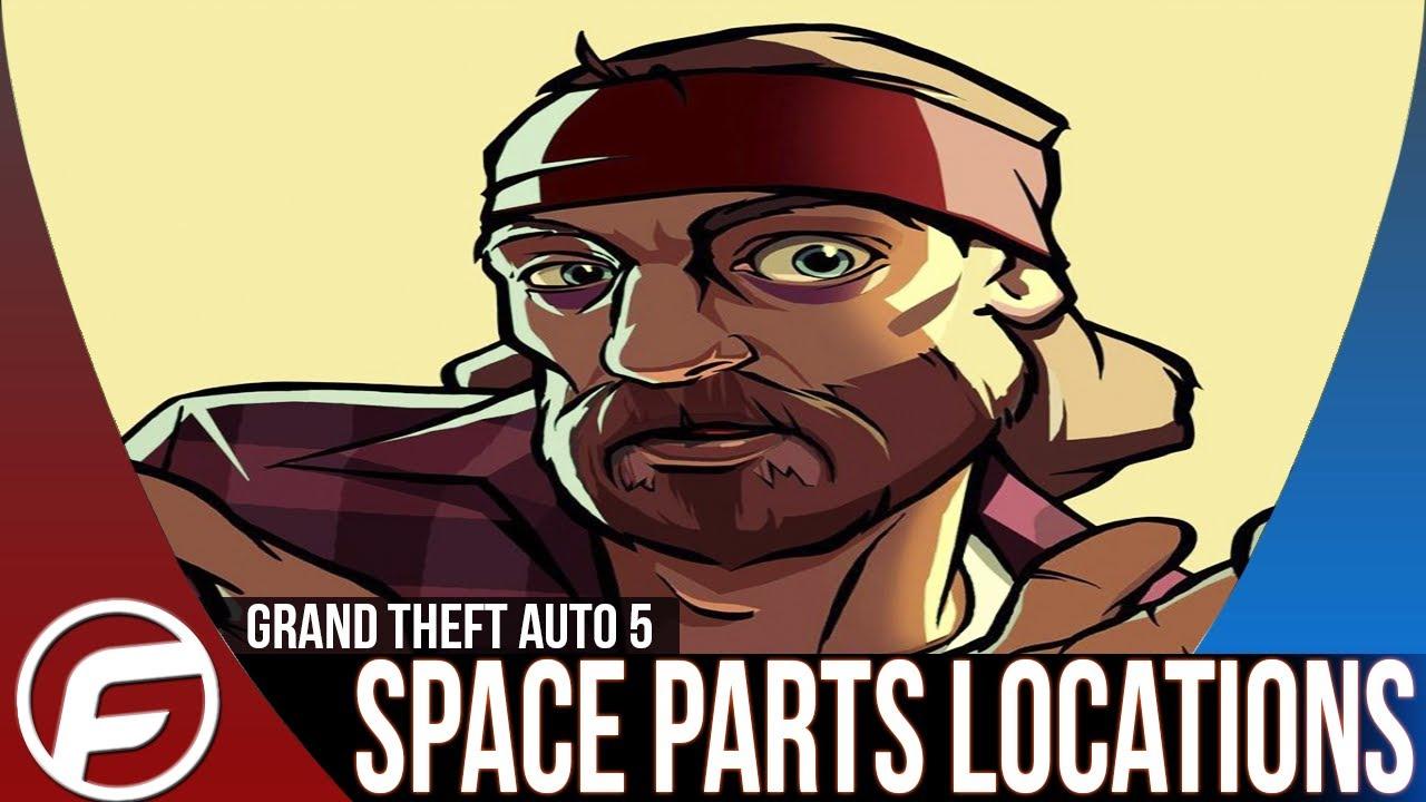 gta 5 spaceship parts location guide