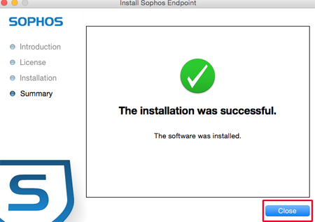 sophos endpoint security installation guide