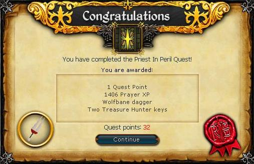 priest in peril quest guide osrs
