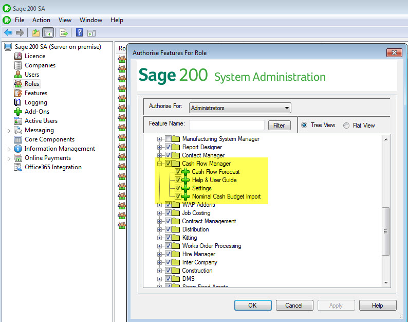 accpac system manager user guide