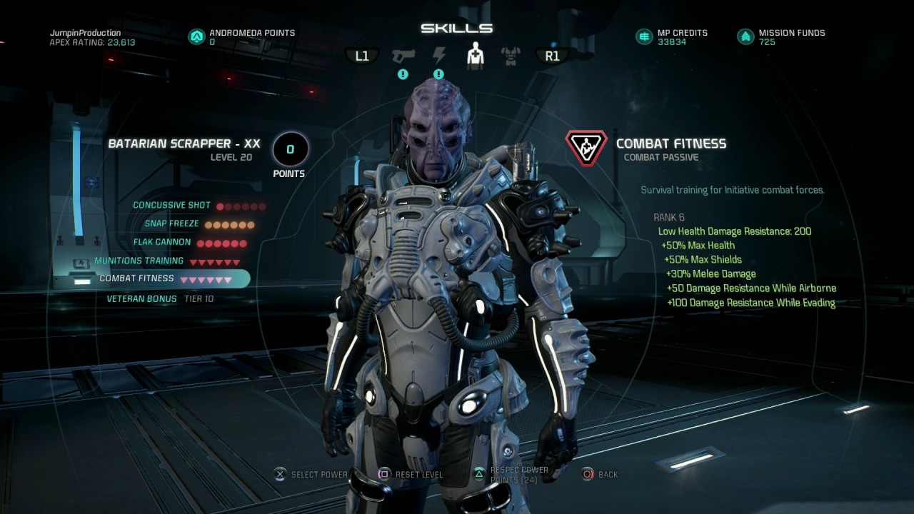 mass effect andromeda platinum guide