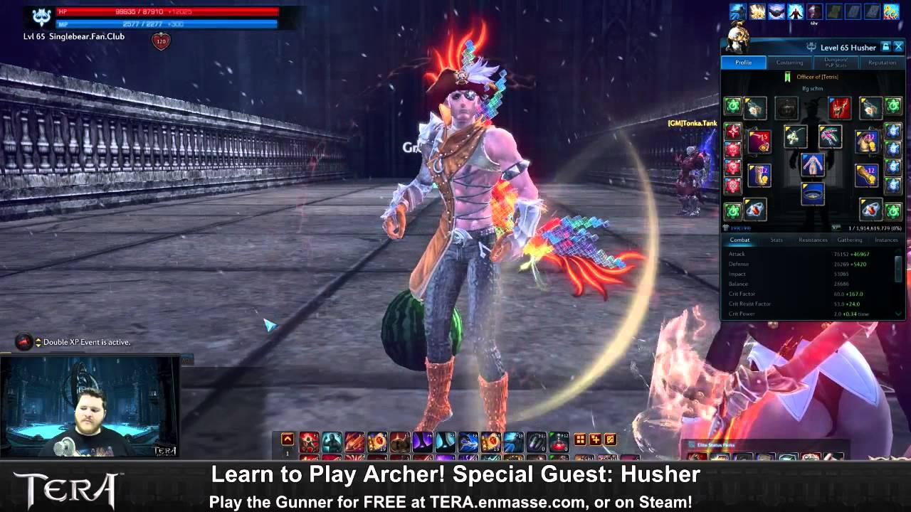 tera online archer guide 2017