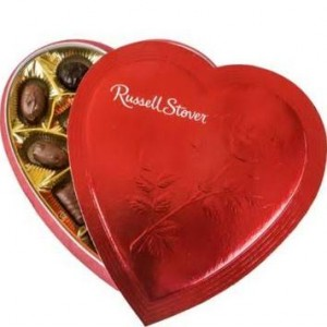 russell stover valentine candy guide
