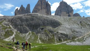 via ferrata dolomites guided tours