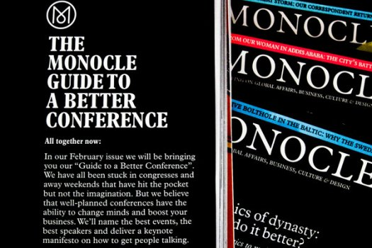 guide to better living monocle
