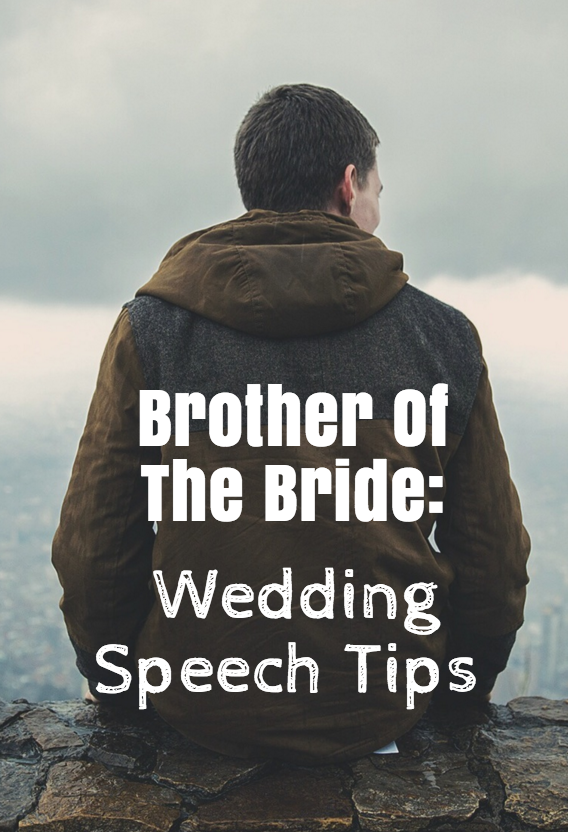 guide to brother of bride speech