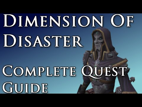 runescape dimension of disaster guide