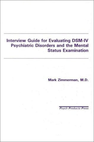 a guide to psychiatric examination