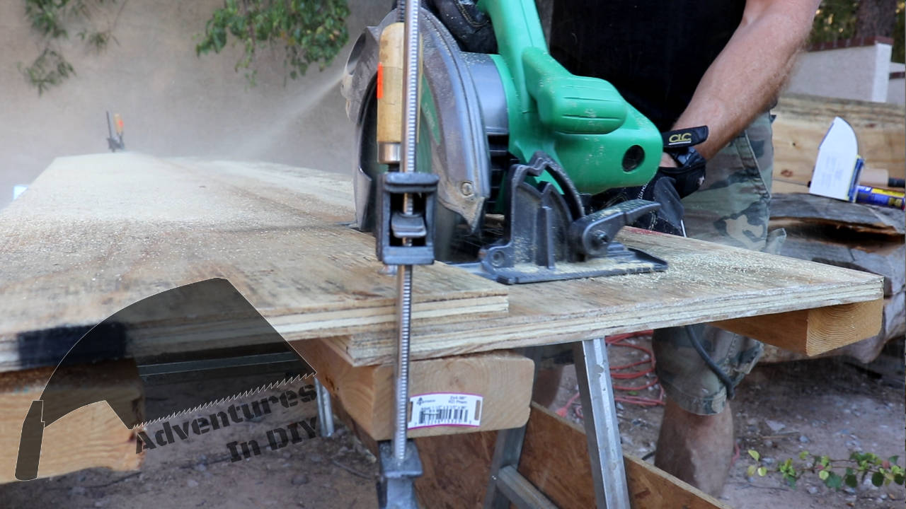 using a circular saw guide