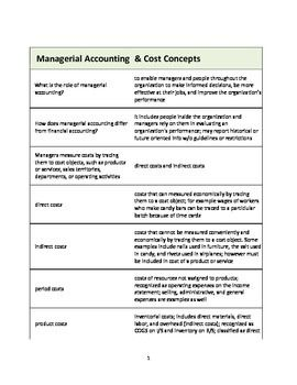 cpa strategic management accounting study guide