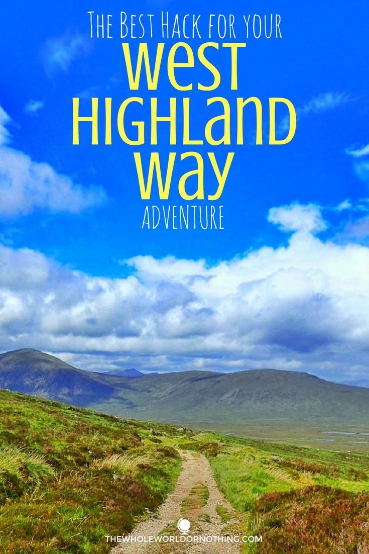 west highland way guide book