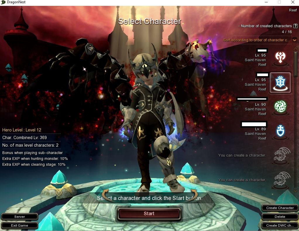 dragon nest leveling guide 95