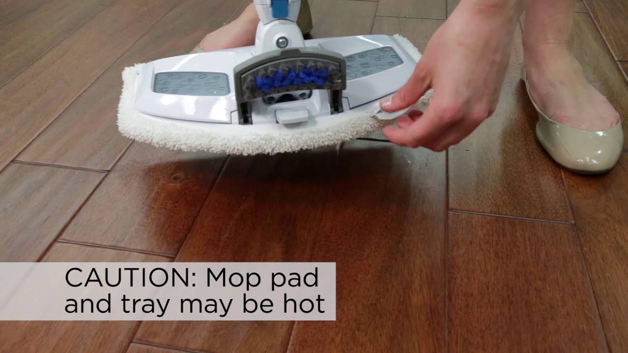 bissell powerfresh steam mop user guide