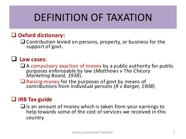 a guide to malaysian taxation