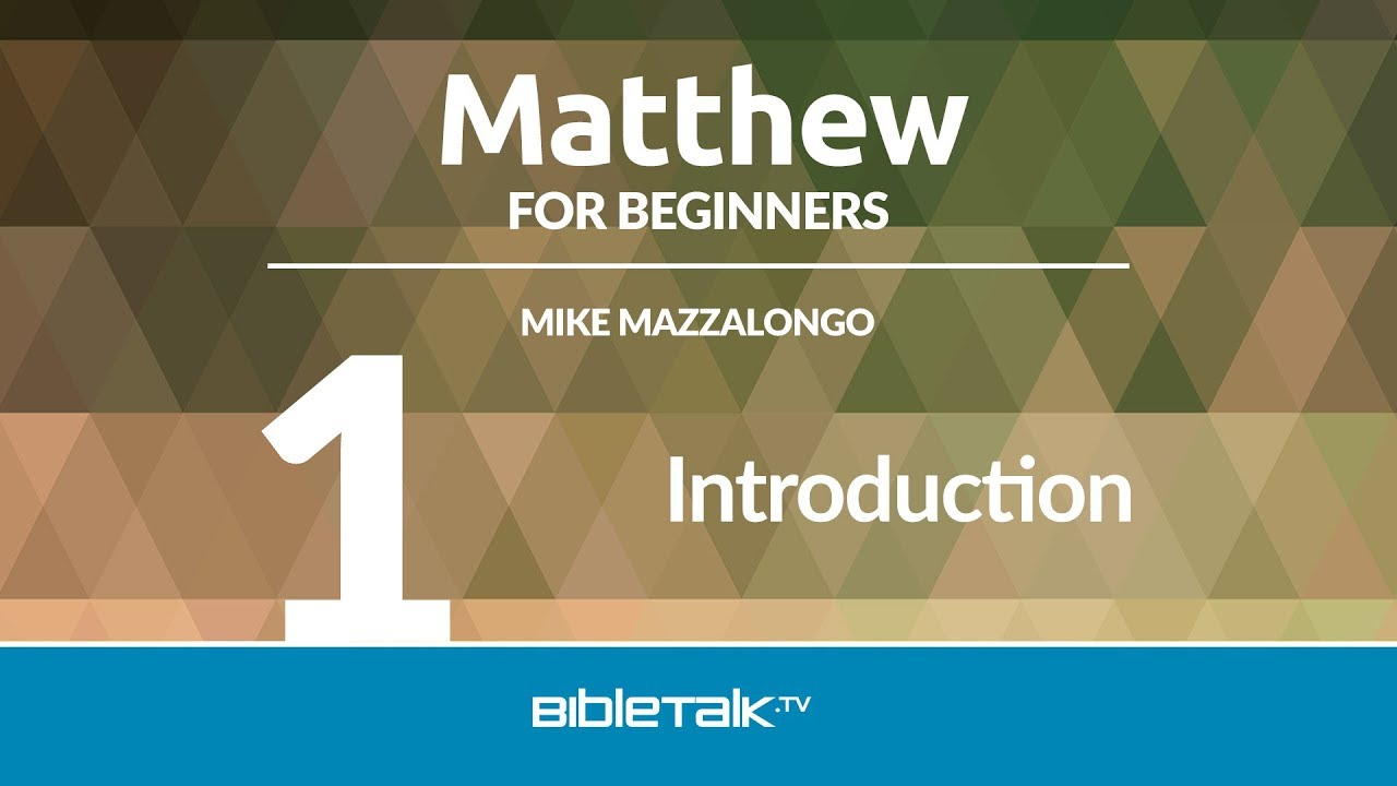 matthew bible study guide pdf