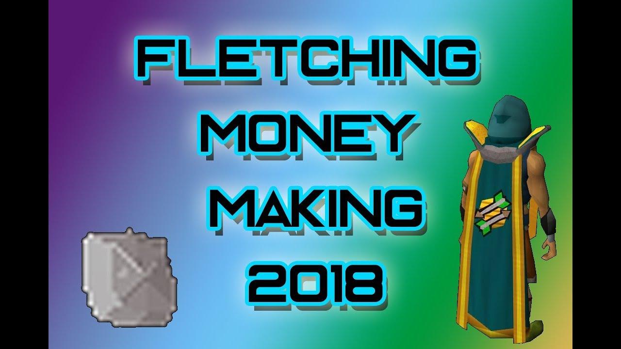 fletching money making guide osrs