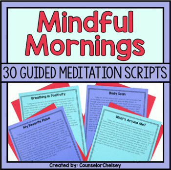 guided mindfulness meditation script for anxiety