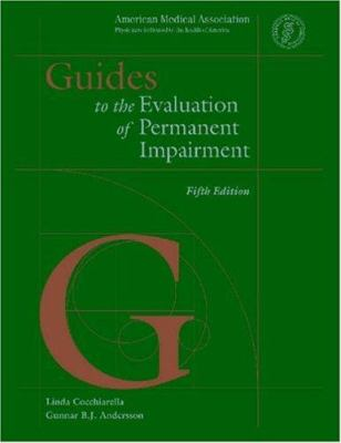 guides to the evaluation of permanent impairment sixth edition pdf