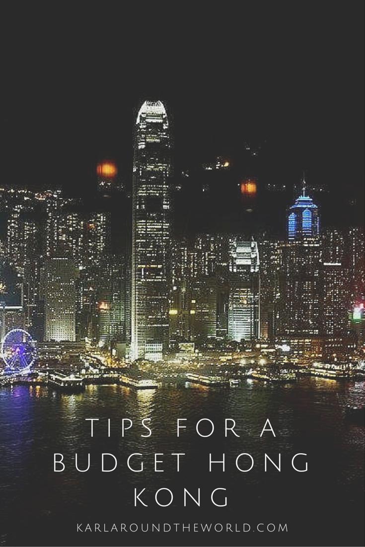hong kong budget travel guide
